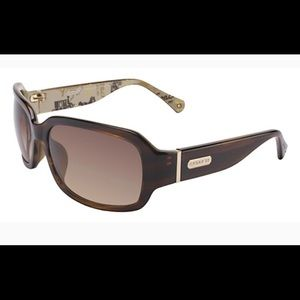 Coach Martha (brown horn) sunglasses with case